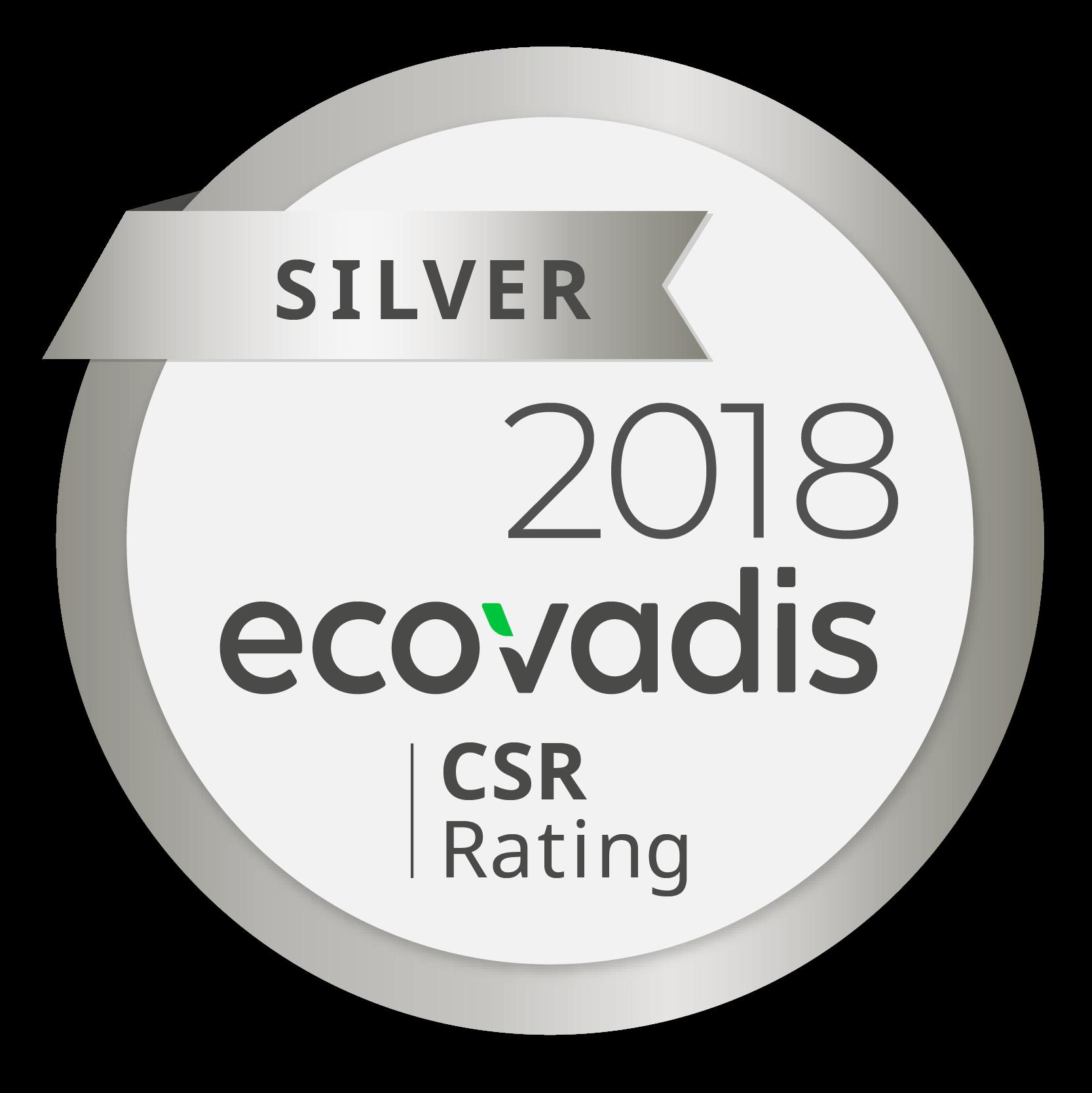 Saturne Services reçoit la Médaille d'Argent EcoVadis pour l'ensemble de sa démarche RSE