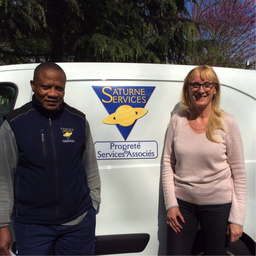 Interview de Christine Valle, secrétaire commerciale chez Saturne Services